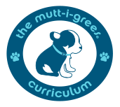 The Mutt-i-grees® Curriculum Logo