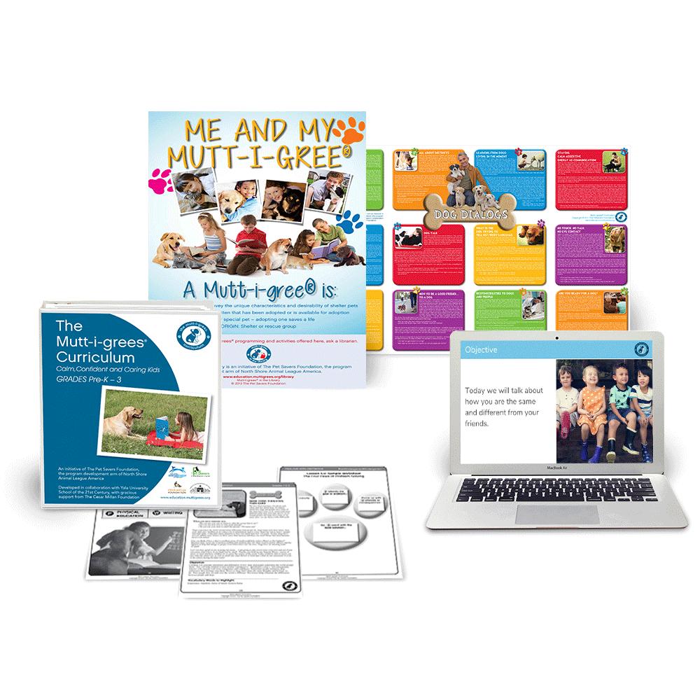 Grades Pre-K – 3 Curriculum Kit + Digital Access